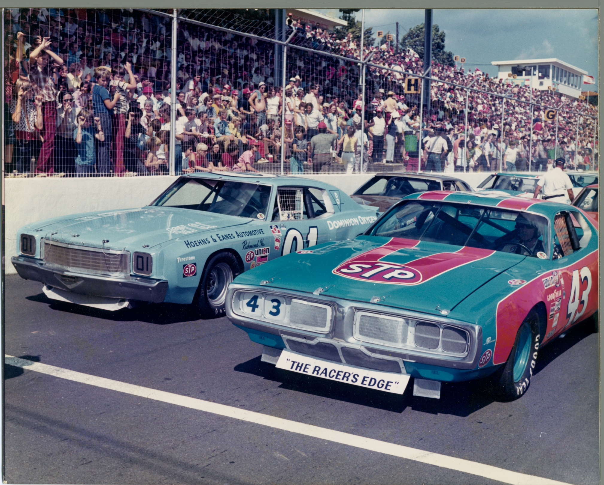 8 Va. Weekly Racers, 1 Canadian Thrilled Martinsville Cup Crowd In ...