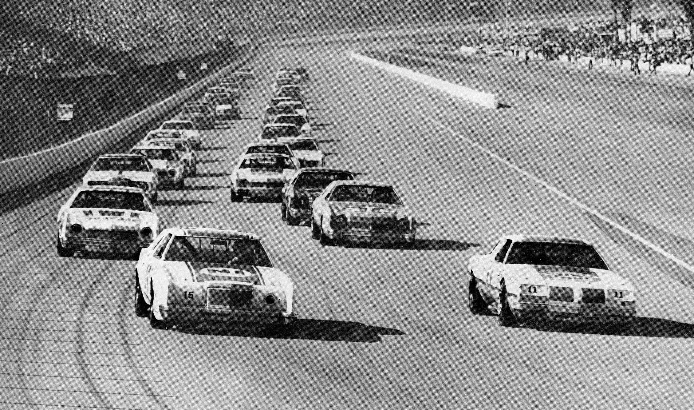 The los angeles times 500 ontario motor speedway for Los angeles motor speedway